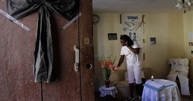 Amnesty was set to recognize late Cuba dissident