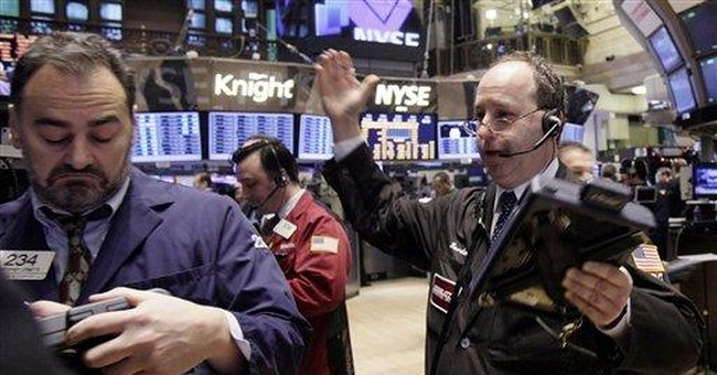 Microsoft and IBM push Dow up, Google falls