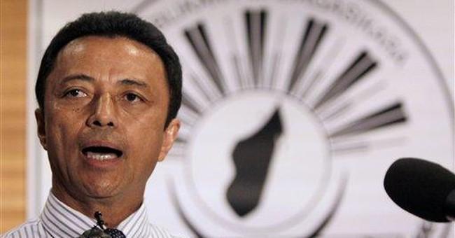 Madagascar exiled president sent back to S.Africa