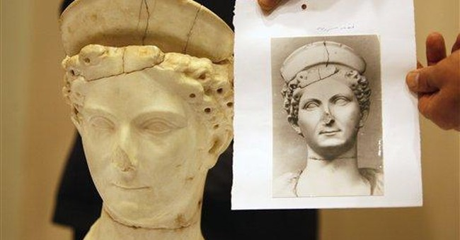 Italy returns 2,000 year-old statue to Libya
