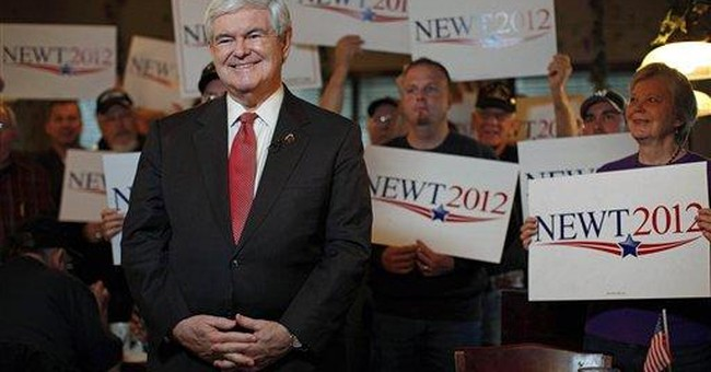 Gingrich wins SC primary, upsets Romney