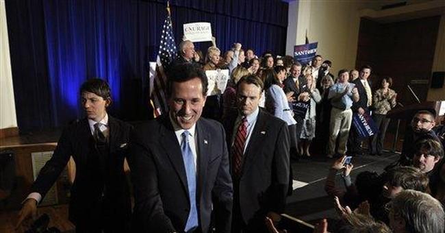 Santorum says he's pressing on to Florida