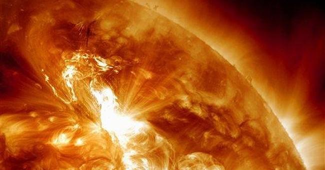 Strongest solar storm since 2005 hitting Earth