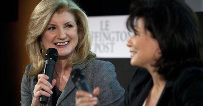 DSK's long-silent wife launches Le Huffington Post