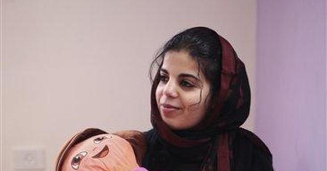 Palestinian woman escapes father's dark captivity