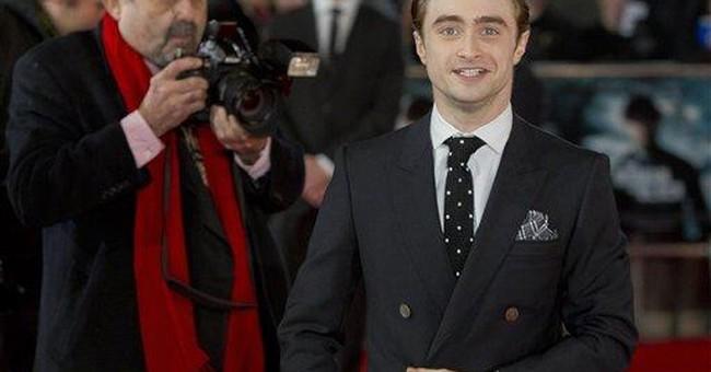 Potter star Daniel Radcliffe at new film premiere