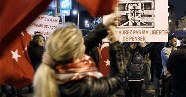 Turkey slams France over Armenian 'genocide' bill
