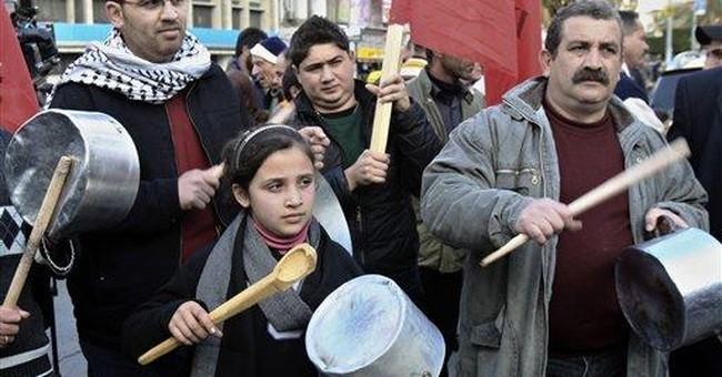 Palestinian tax hike riles business, unions