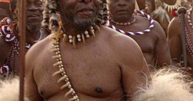 South Africa: Zulu king denies anti-gay statement
