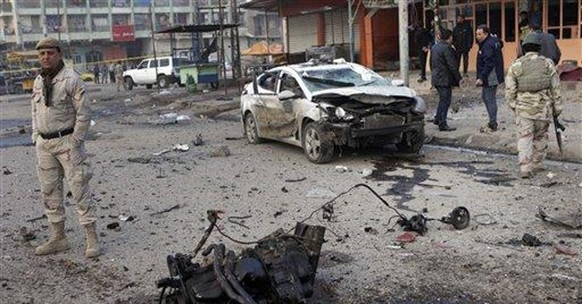 Attacks by suspected insurgents kill 17 in Iraq