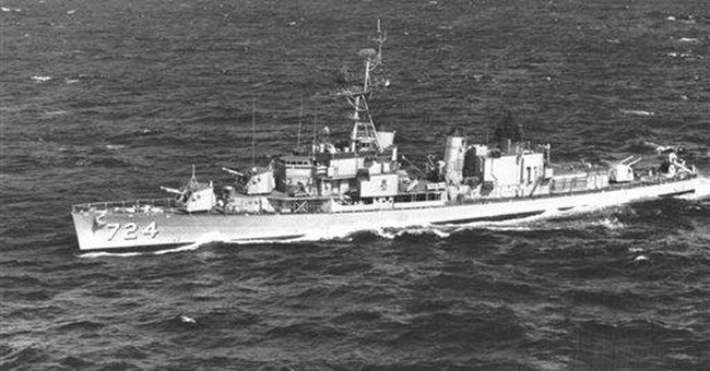 WWII destroyer returns to SC home after repairs