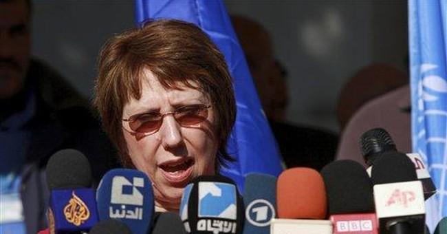 EU still sees chance for Israel-Palestinian talks