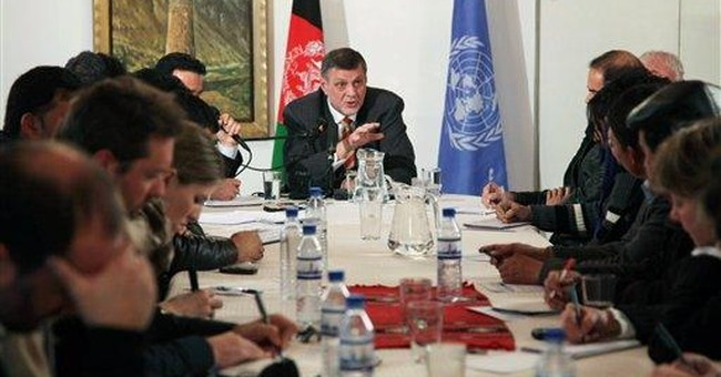 UN's new Afghan envoy heartened by talk of peace