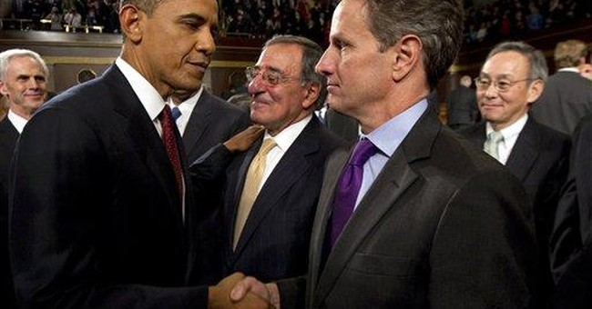 Geithner: Obama won't ask me to stay in a 2nd term