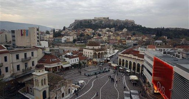 Greek unions, employers discuss wage cuts