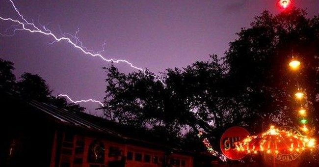 Severe storms drench Texas, spawn tornadoes