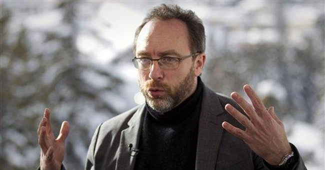 AP Interview: Wikipedia founder hails role in US