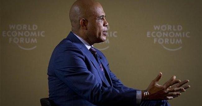 AP Interview: Haitian leader could pardon Duvalier