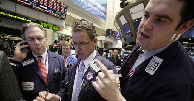 Dow opens near post-crisis peak but ends lower