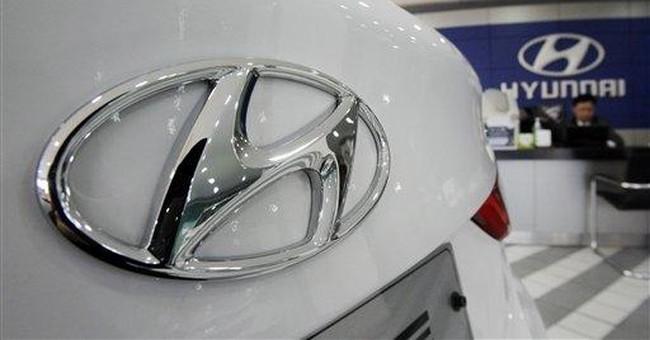Hyundai Motor reports record $7.2B profit for 2011