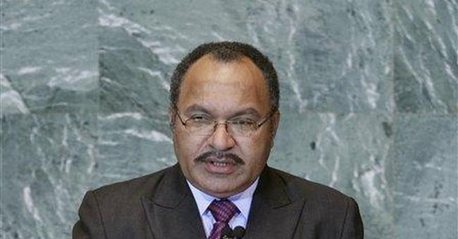 Papua New Guinea mutineers demand pardon