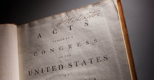 Washington's copy of Constitution goes on display