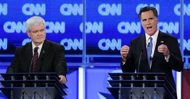 Romney's forceful body language scores in debate
