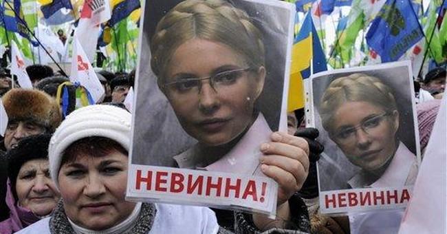Ukraine's president firm against Tymoshenko