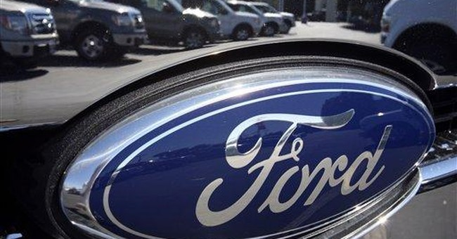 North America boosts Ford in 4Q