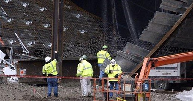 Workers hurt in collapse at Cincinnati casino site