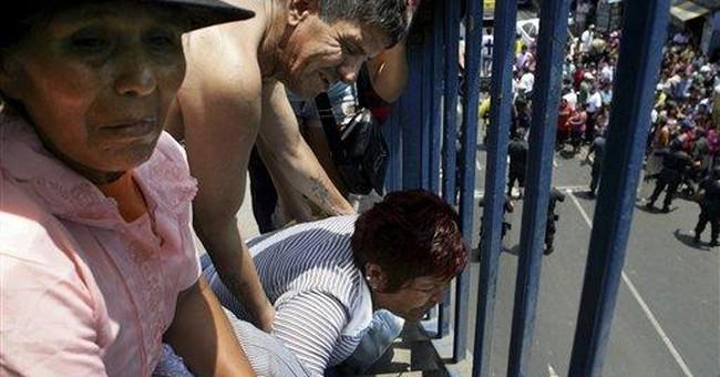 Peru: 27 killed in fire at rehabilitation center
