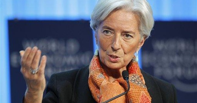 IMF chief presses for more cash to fight crisis