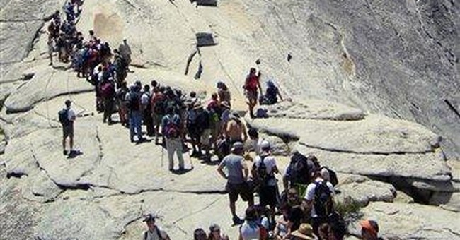 Yosemite plan means fewer hikers on Half Dome