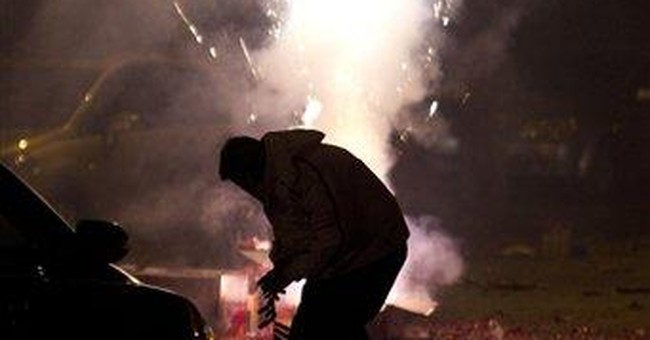 Beijing air pollution soars with fireworks smoke