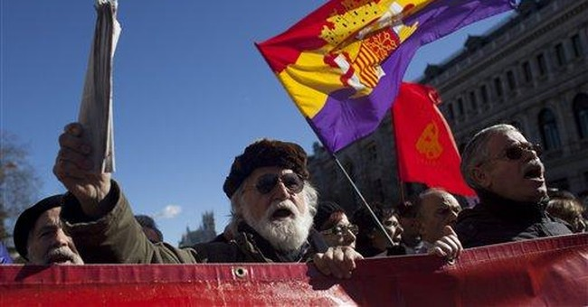 Protesters in Spain support embattled judge