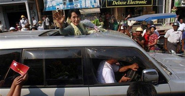 Suu Kyi galvanizes once-repressed Myanmar politics