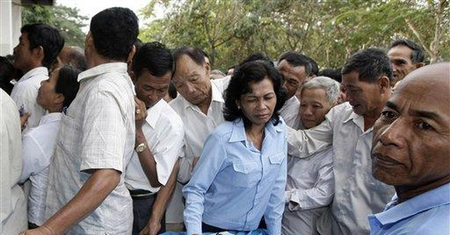 Ruling party gets expected win in Cambodian Senate