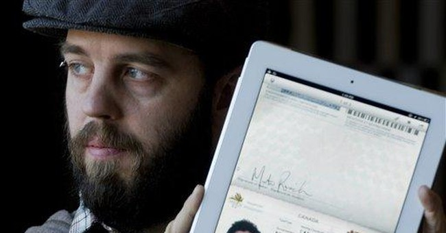 Canadian man uses iPad to enter US