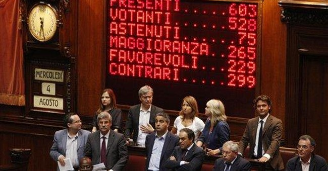 High salaries for Italian lawmakers stirs anger