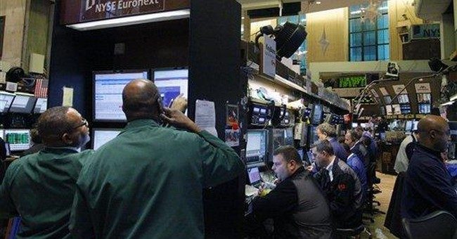 Wall Street's happy new year: Dow up almost 180