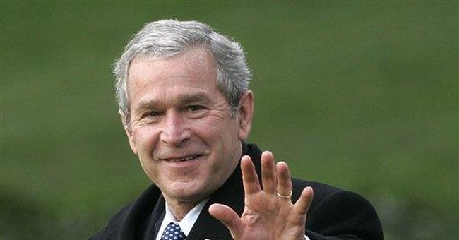 George W. Bush barely mentioned in GOP campaign