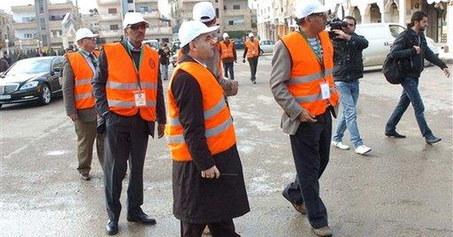 Activists says Syrian regime misleading monitors