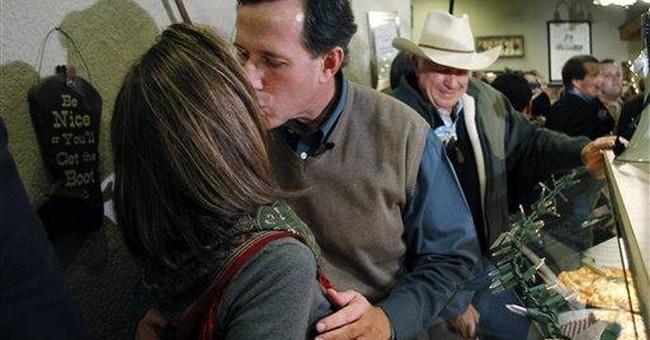 Santorum braces to move beyond Iowa
