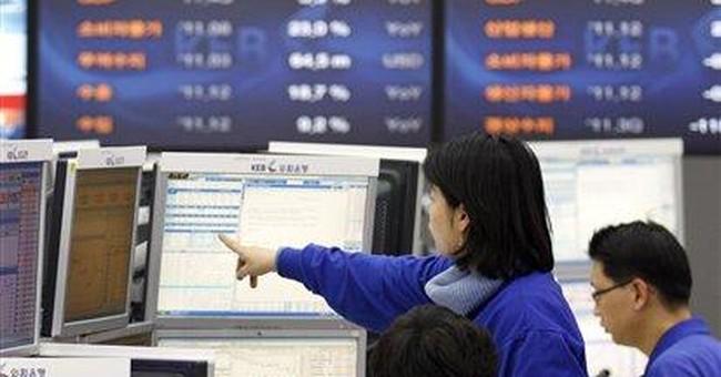 World stocks fall ahead of EU summit