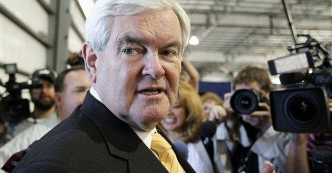 GOP race's approaching lull will test Gingrich