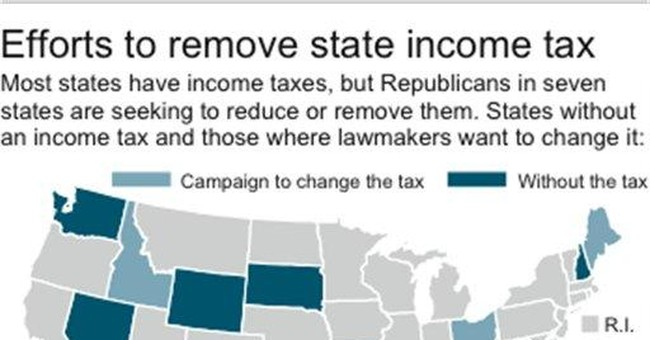 Emboldened GOP wants to abolish state income taxes