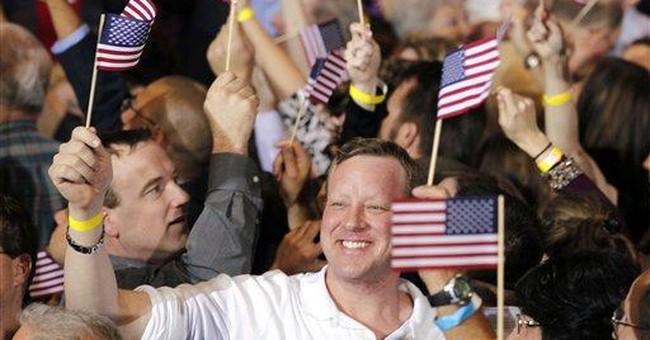 Romney sounds like presumptive GOP pick after Fla.