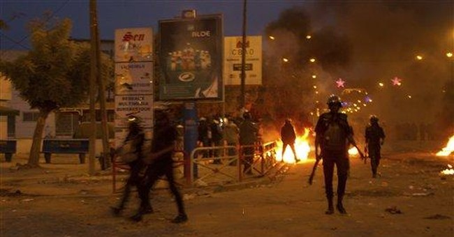 Students clash with police in Senegal
