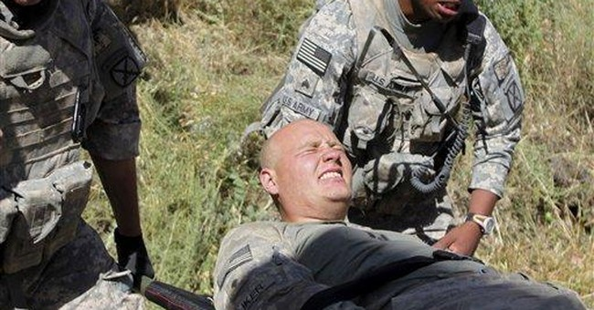 Wounded NY soldier pleads guilty in infant slaying