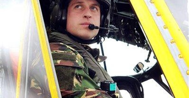 Pilot Prince William in Falklands for 6-week tour